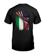 Flag-America-Italy Classic T-Shirt tile