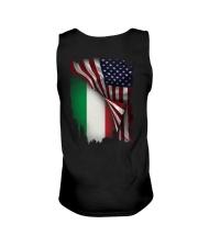 Flag-America-Italy Unisex Tank thumbnail