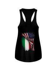 Flag-America-Italy Ladies Flowy Tank thumbnail