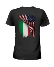 Flag-America-Italy Ladies T-Shirt tile