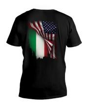 Flag-America-Italy V-Neck T-Shirt thumbnail