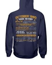 YEAR GREAT 80-10 Hooded Sweatshirt back