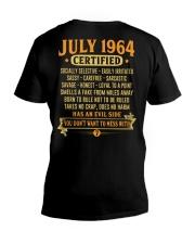 MESS WITH YEAR 64-7 V-Neck T-Shirt thumbnail