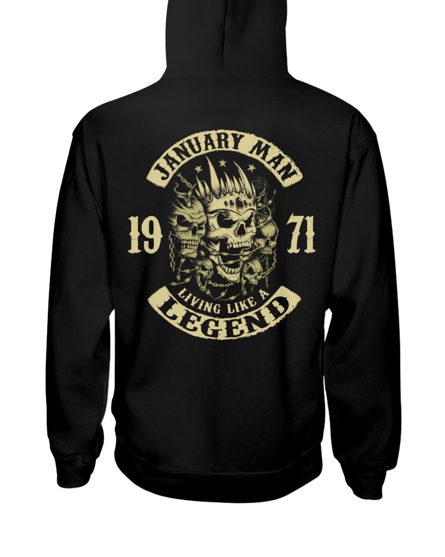 MAN 1971 01 Hooded Sweatshirt