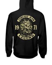 MAN 1971 01 Hooded Sweatshirt back