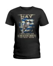 GOOD GUY GREEK5 Ladies T-Shirt thumbnail