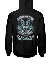 BETTER GUY 75-9 Hooded Sweatshirt back