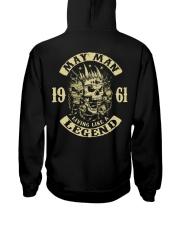 MAN 1961-5 Hooded Sweatshirt back
