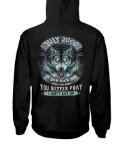 BETTER GUY 00-7 Hooded Sweatshirt back