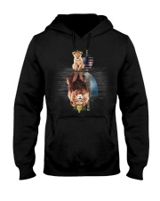 King Guatemala Hooded Sweatshirt front