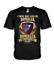 I MAY NOT SOMALIA V-Neck T-Shirt thumbnail