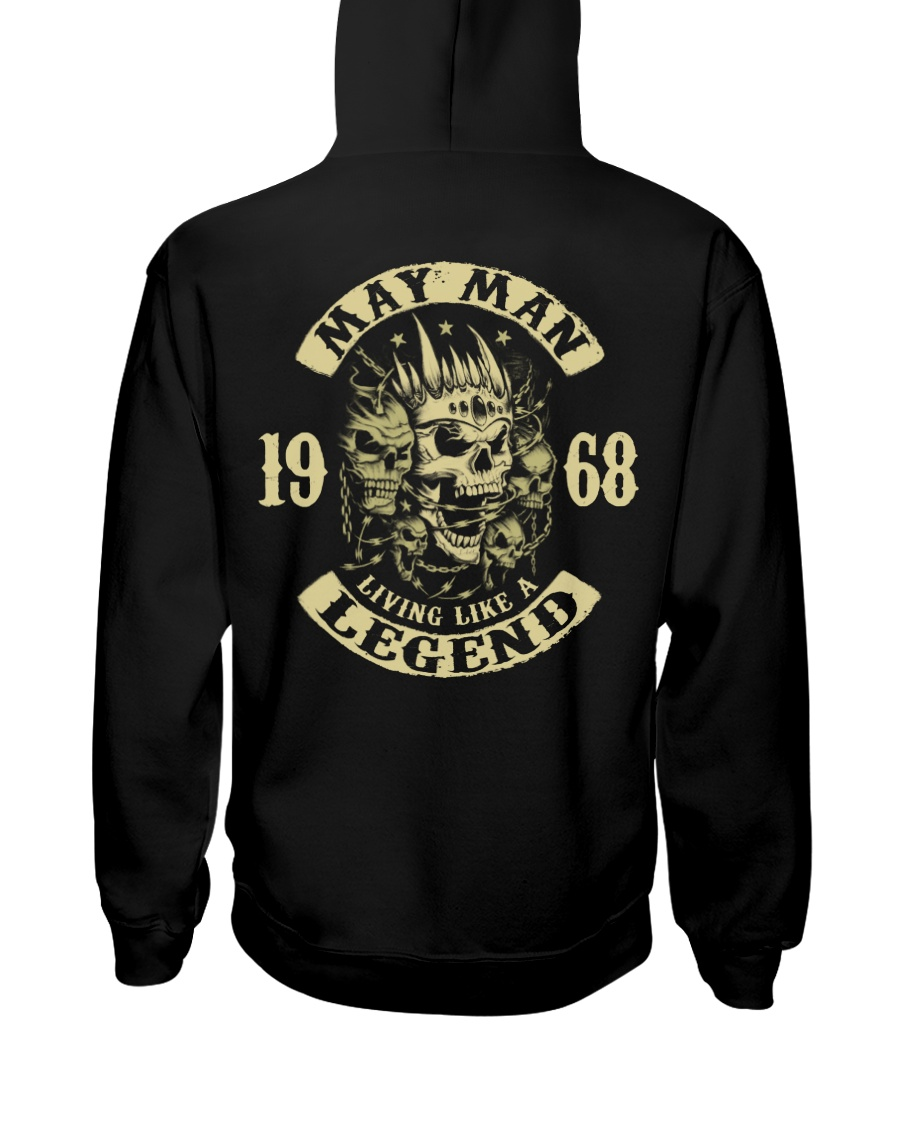 MAN 1968-5 Hooded Sweatshirt