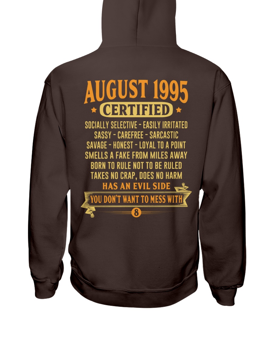 MESS WITH YEAR 95-8 Hooded Sweatshirt