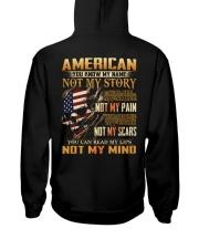 American Hooded Sweatshirt back