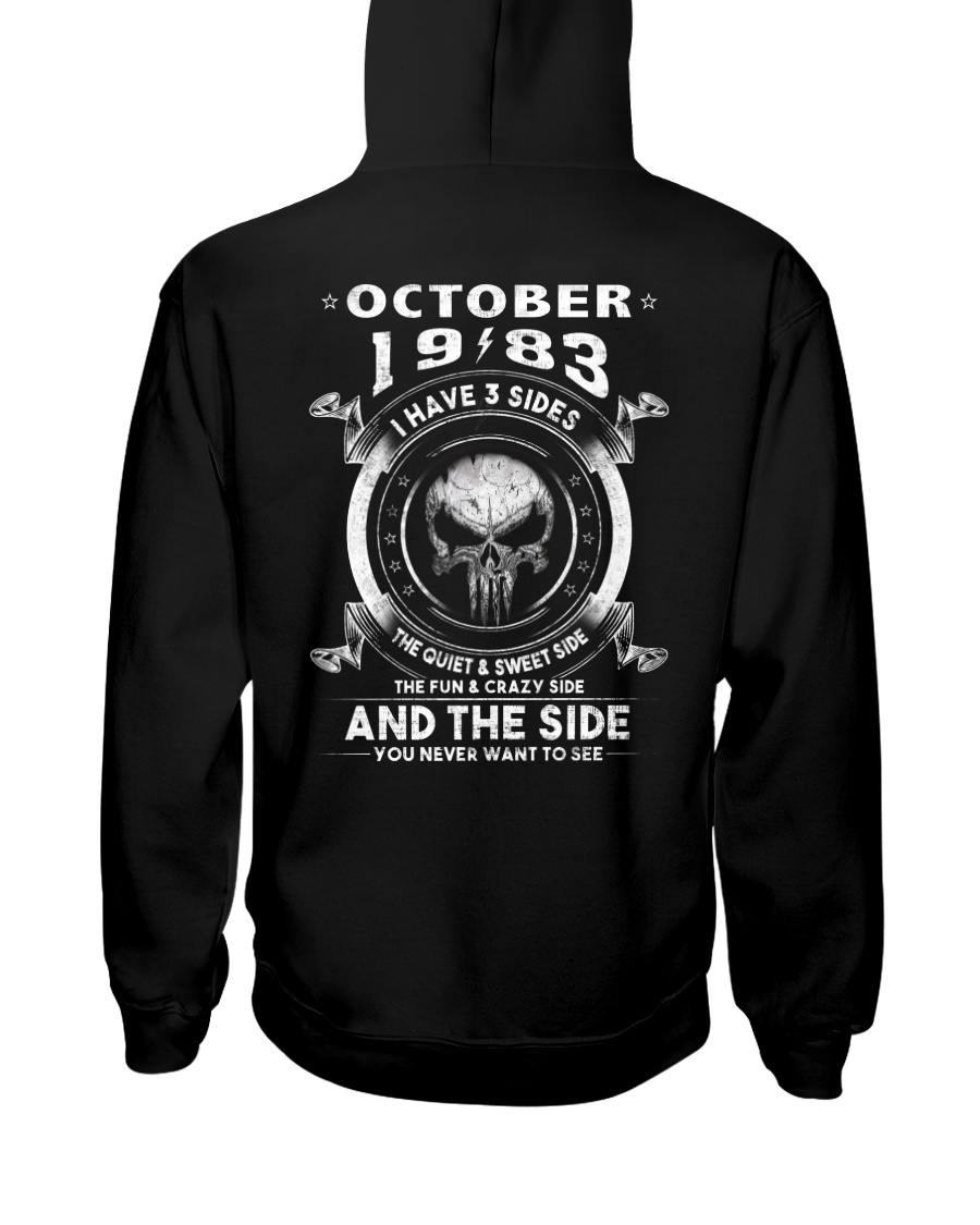 3SIDE 83-010 Hooded Sweatshirt