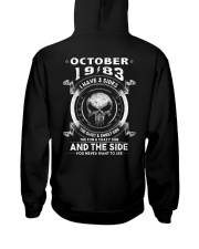 3SIDE 83-010 Hooded Sweatshirt back