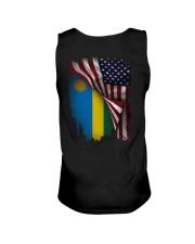 Flag-America-Rwanda Unisex Tank thumbnail