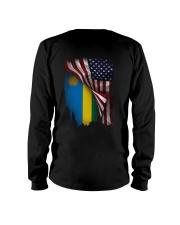 Flag-America-Rwanda Long Sleeve Tee thumbnail