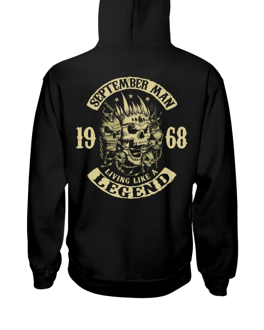 MAN 1968-9 Hooded Sweatshirt