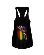 Flag-America-Ethiopia Ladies Flowy Tank thumbnail