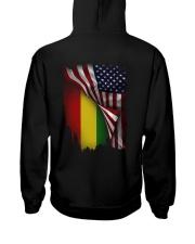 Flag-America-Ethiopia Hooded Sweatshirt back