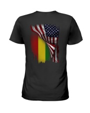 Flag-America-Ethiopia Ladies T-Shirt thumbnail