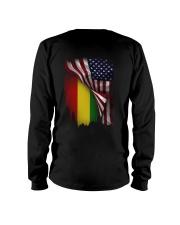 Flag-America-Ethiopia Long Sleeve Tee thumbnail
