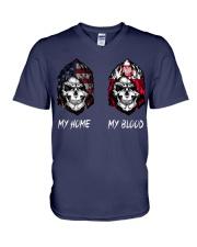 pride poland V-Neck T-Shirt thumbnail