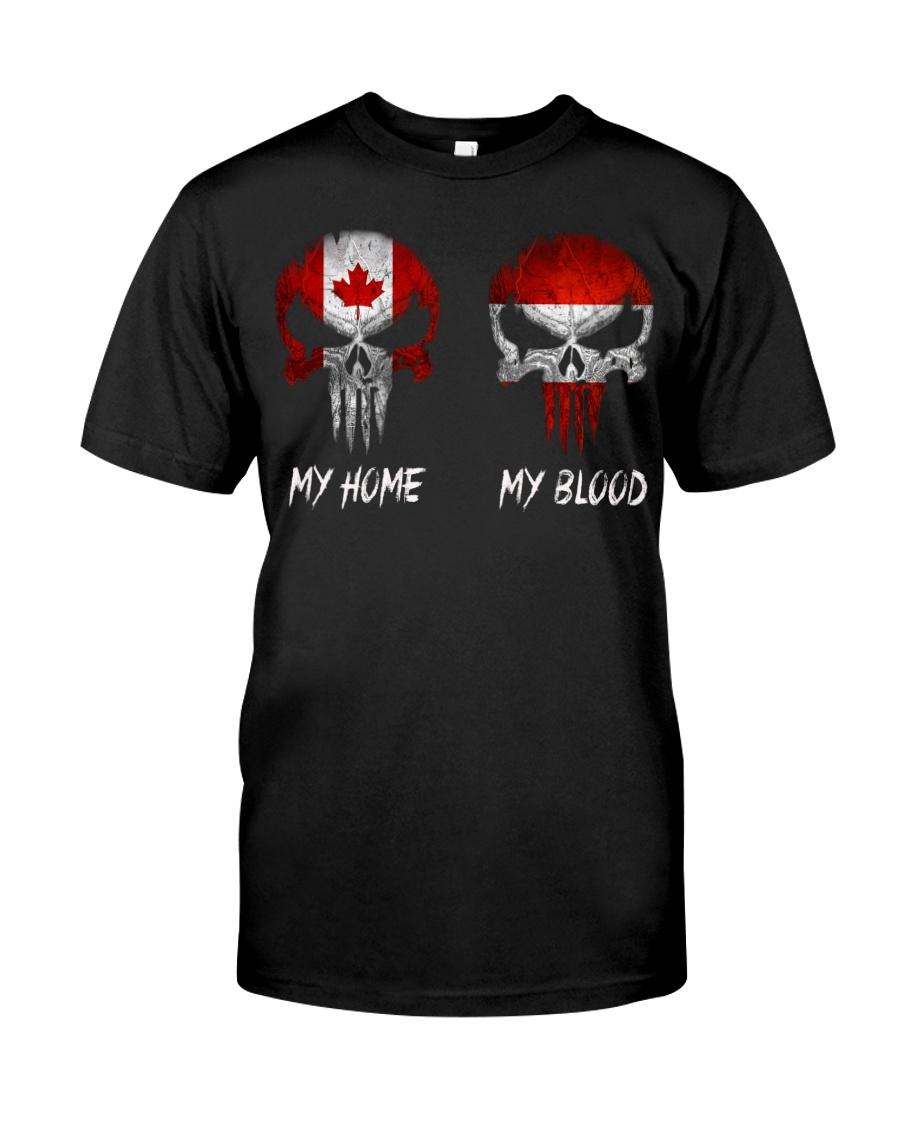 SKULL Canada - Austria Classic T-Shirt