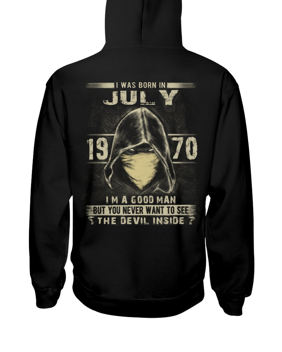 GOOD MAN 1970-7 Hooded Sweatshirt
