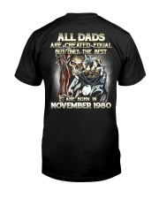 DAD YEAR 80-11 Classic T-Shirt back
