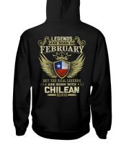 Blood Chilean 02 Hooded Sweatshirt back