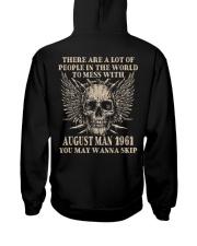 I AM A GUY 61-8 Hooded Sweatshirt back