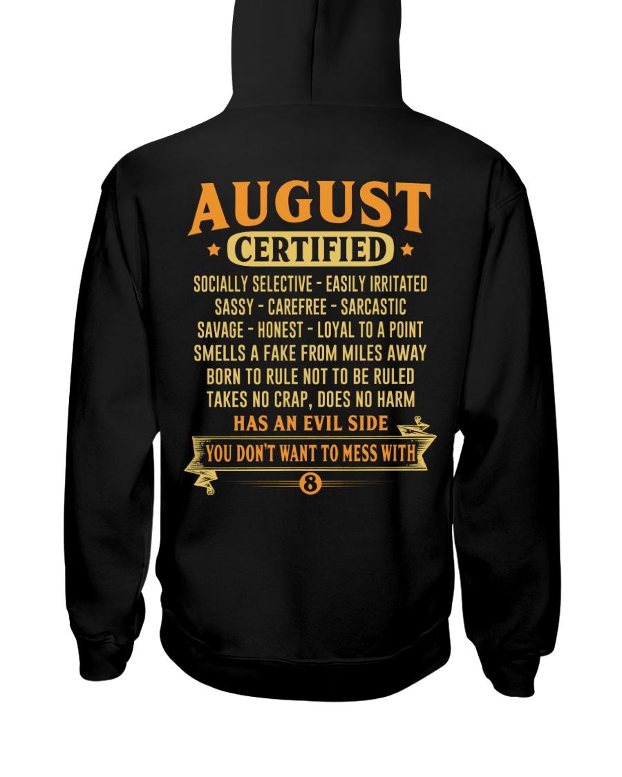 MESS WITH MAN 8 Hooded Sweatshirt