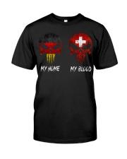 SKULL GERMANY - Switzerland Classic T-Shirt front