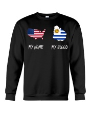 MY HOME MAP Uruguay Crewneck Sweatshirt thumbnail