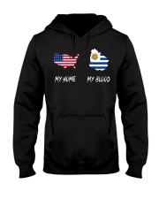 MY HOME MAP Uruguay Hooded Sweatshirt thumbnail