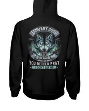 BETTER GUY 00-1 Hooded Sweatshirt back