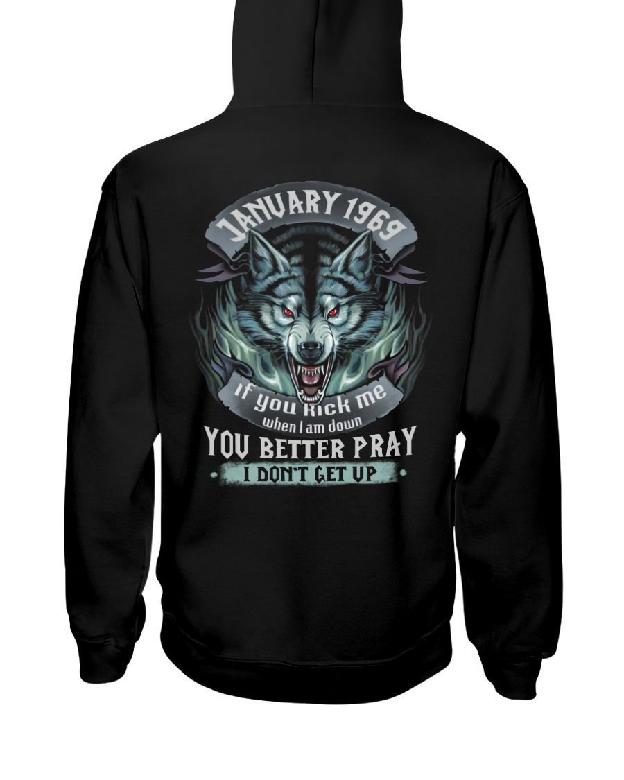 BETTER GUY 69-1 Hooded Sweatshirt