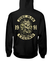 MAN 1991- 6 Hooded Sweatshirt back