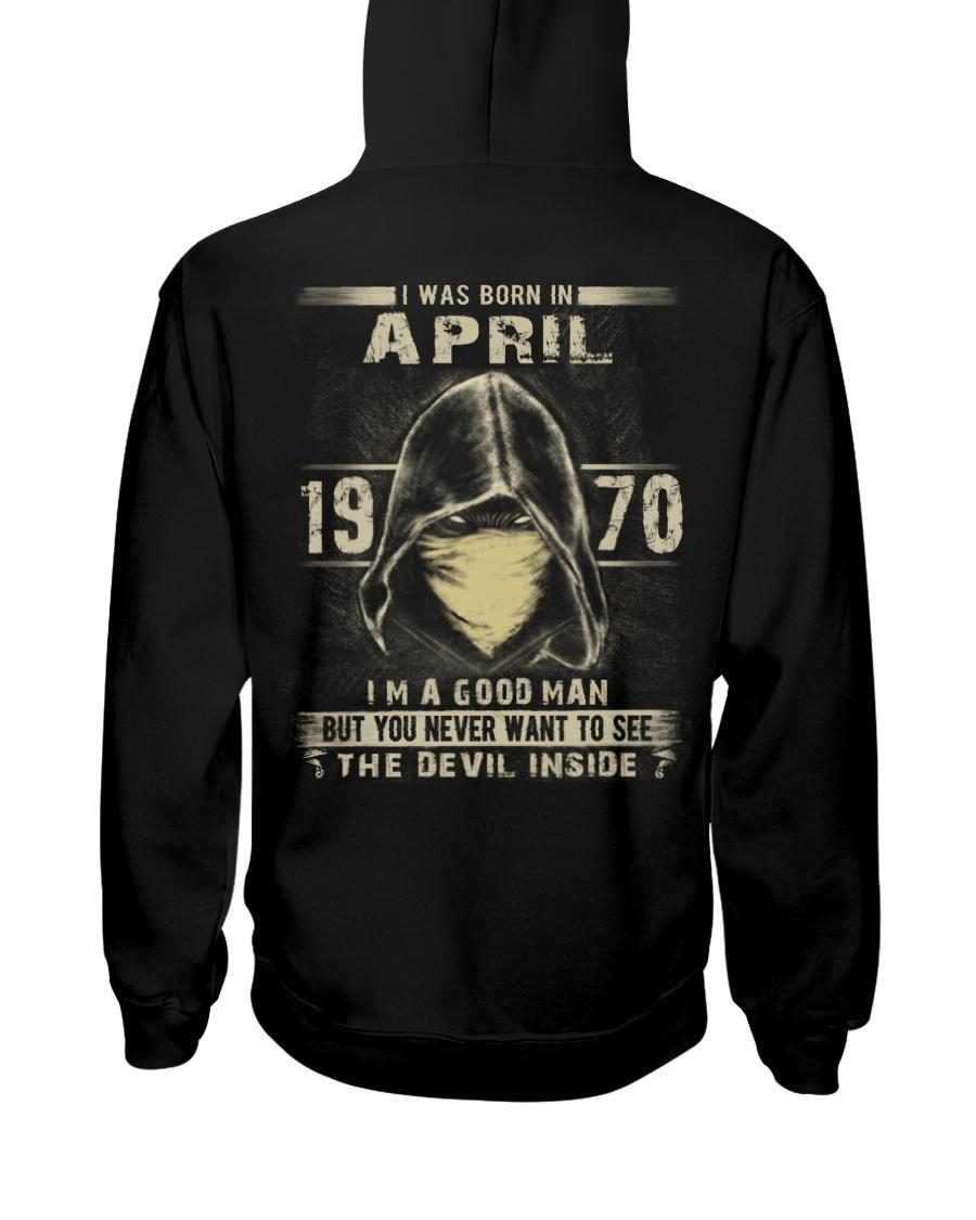GOOD MAN 1970-4 Hooded Sweatshirt