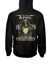 GOOD MAN 1970-4 Hooded Sweatshirt back