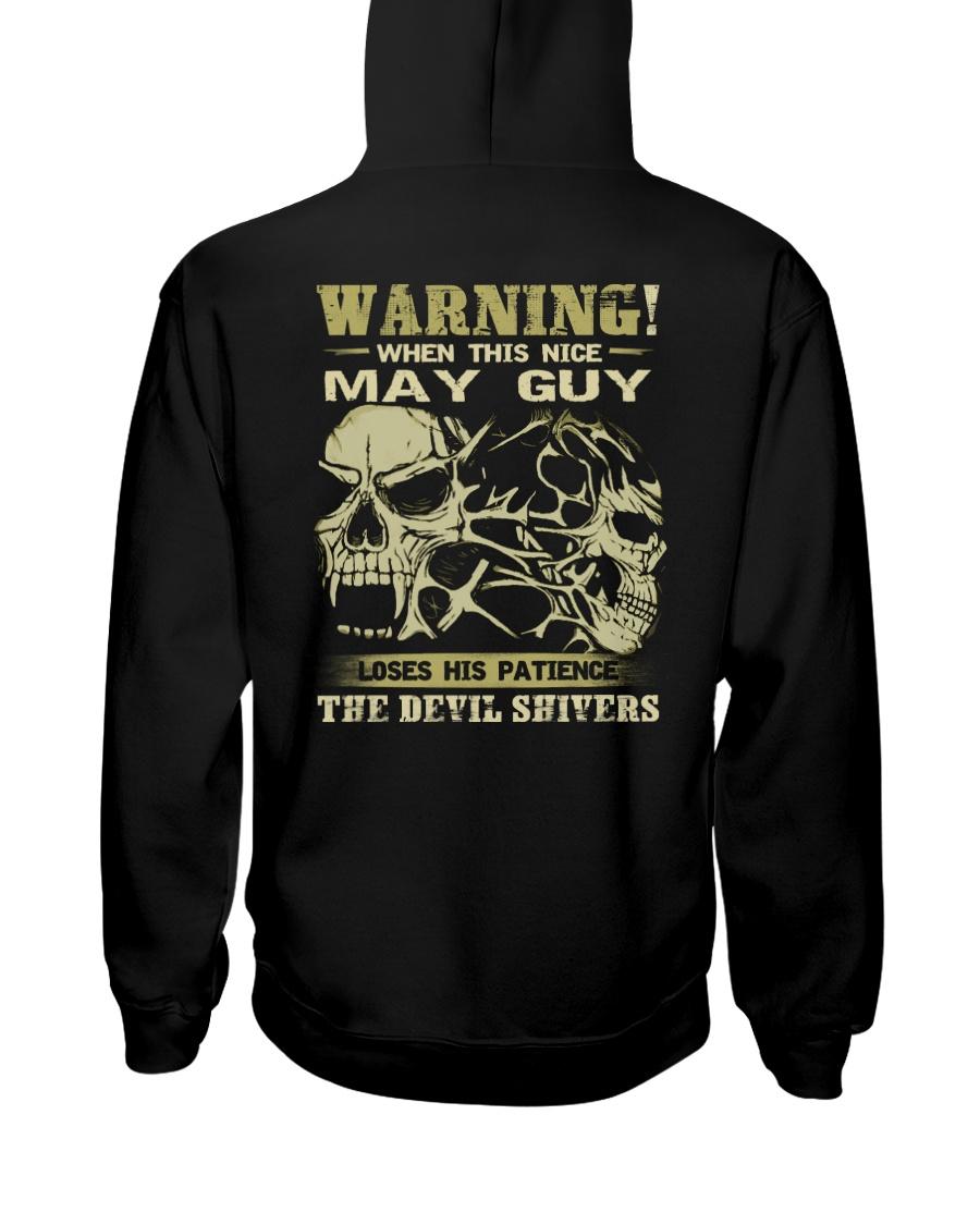 WARNING 5 Hooded Sweatshirt