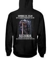RECUERDA 7 Hooded Sweatshirt back