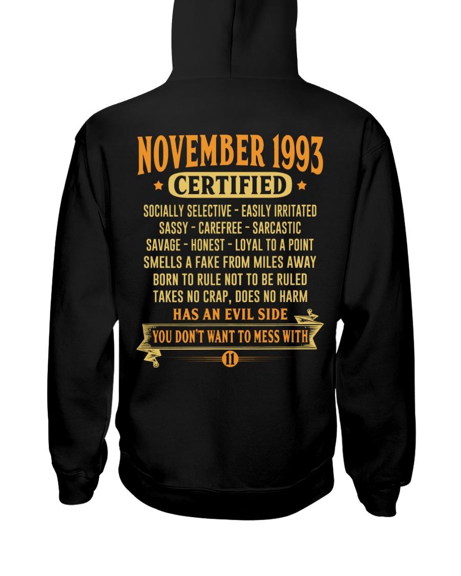 MESS WITH YEAR 93-11 Hooded Sweatshirt