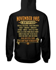 MESS WITH YEAR 93-11 Hooded Sweatshirt back