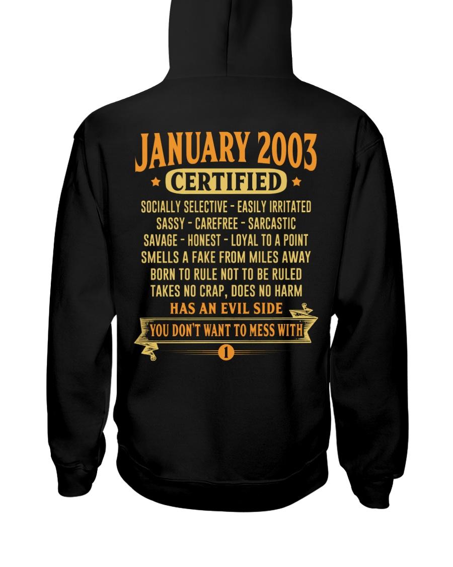 MESS WITH YEAR 03-1 Hooded Sweatshirt