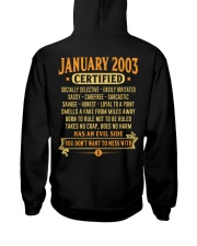 MESS WITH YEAR 03-1 Hooded Sweatshirt back