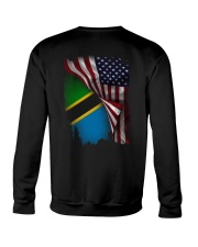 Flag-America-Tanzania Crewneck Sweatshirt thumbnail