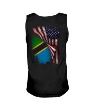 Flag-America-Tanzania Unisex Tank thumbnail
